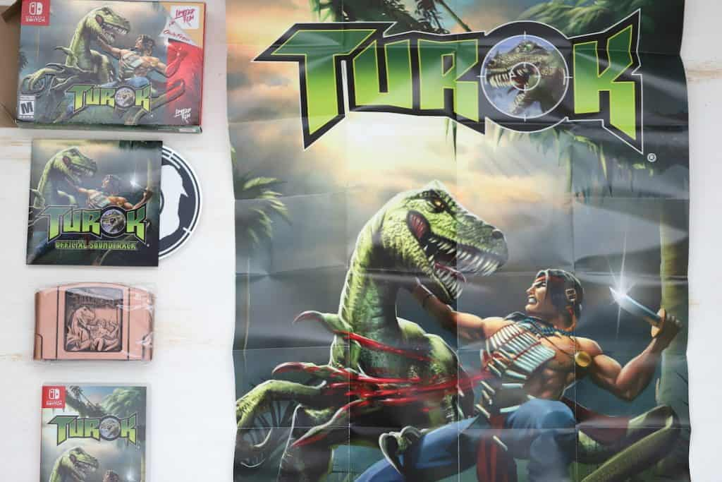 Limited Run Turok Collector's Edition Inserts