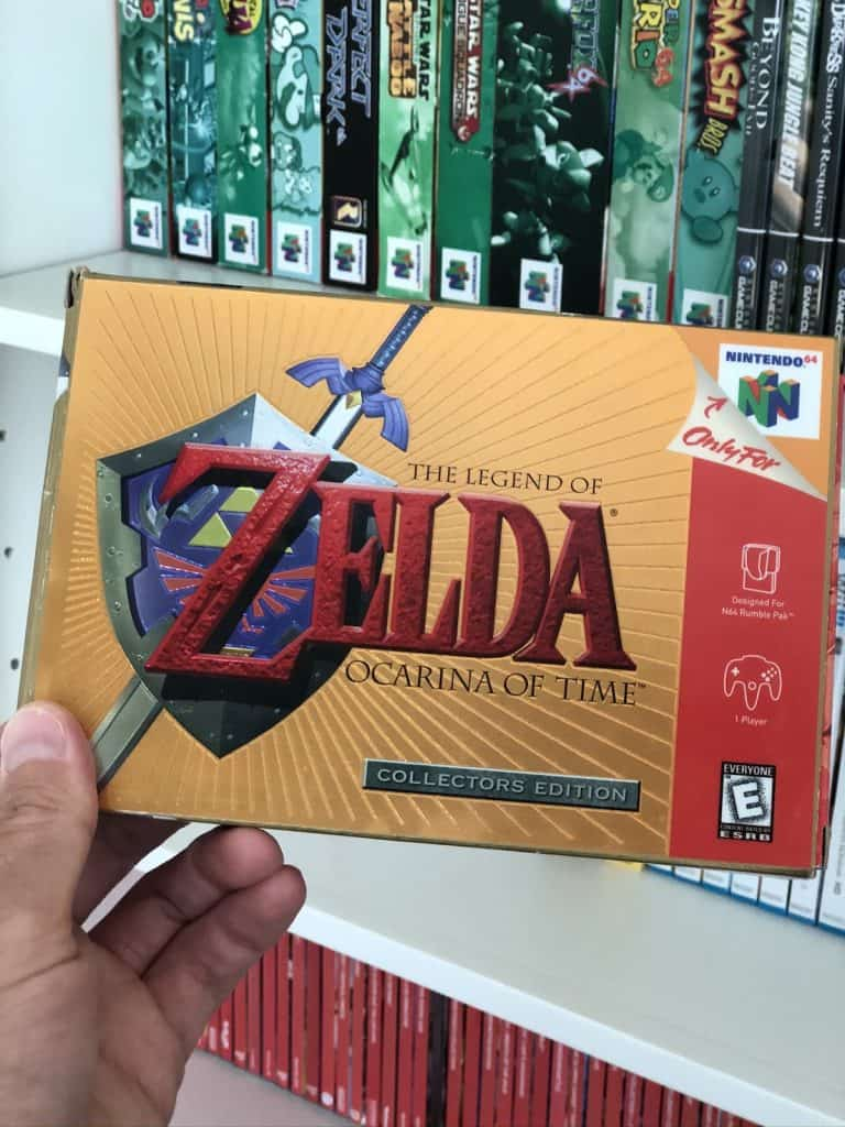 Ocarina of Time Collector's Edition Box