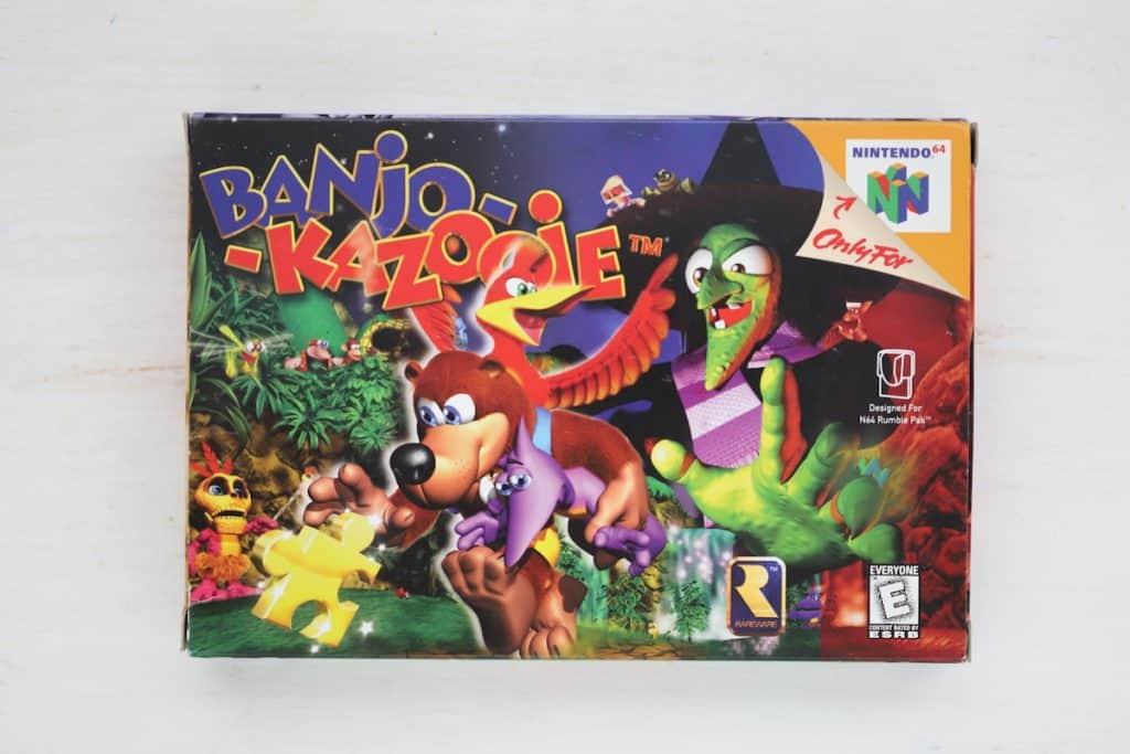 Banjo Kazooie Box Art