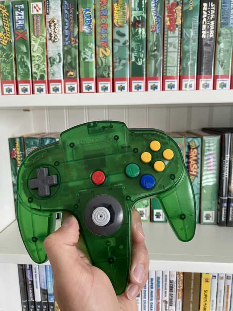 Jungle Green N64 Funtastic Controller