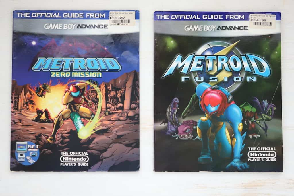 Nintendo Power Guide for Metroid Fusion and Metroid Zero Mission
