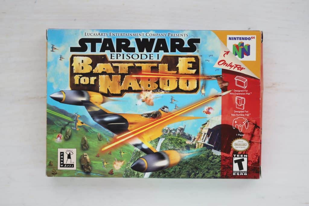 Star Wars Battle for Naboo Box Art