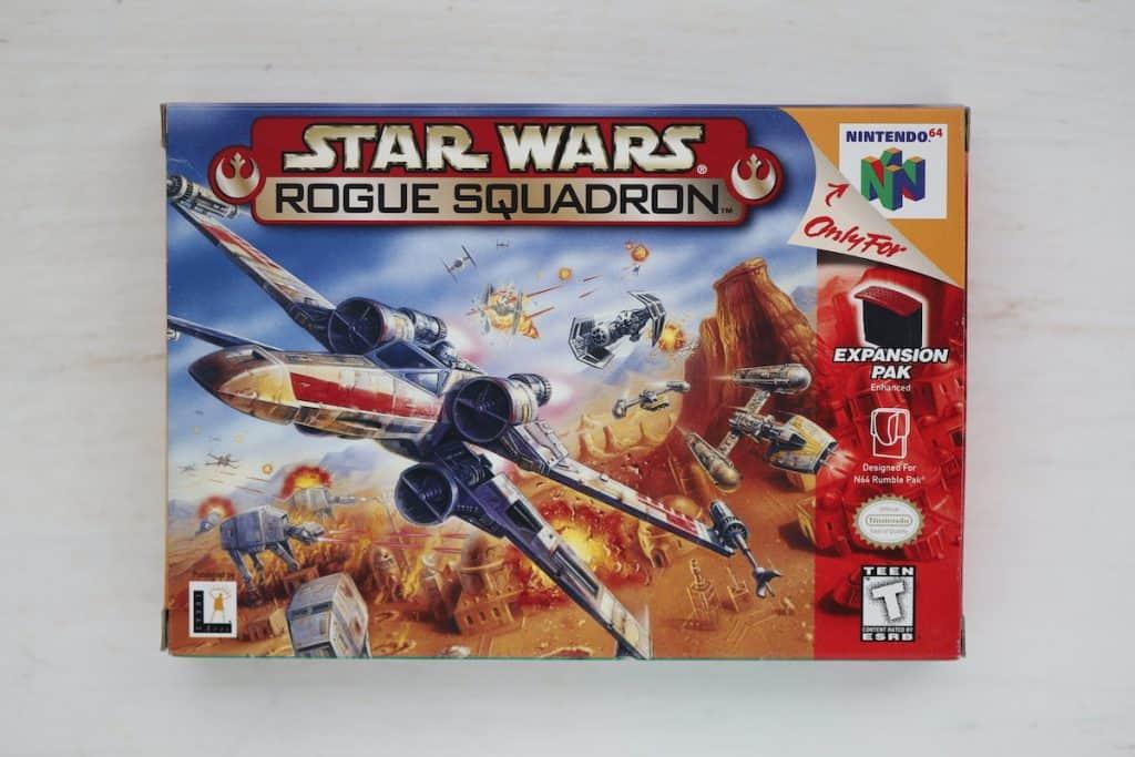 Star Wars Rogue Squadron Box Art