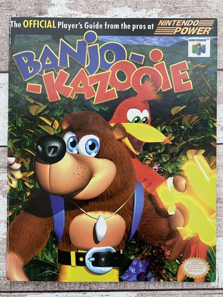 Banjo Kazooie Nintendo Power player's guide