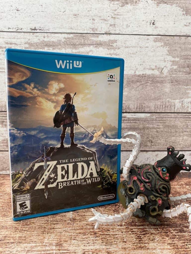 Legend of Zelda: Breath of the Wild for Wii U and Guardian amiibo