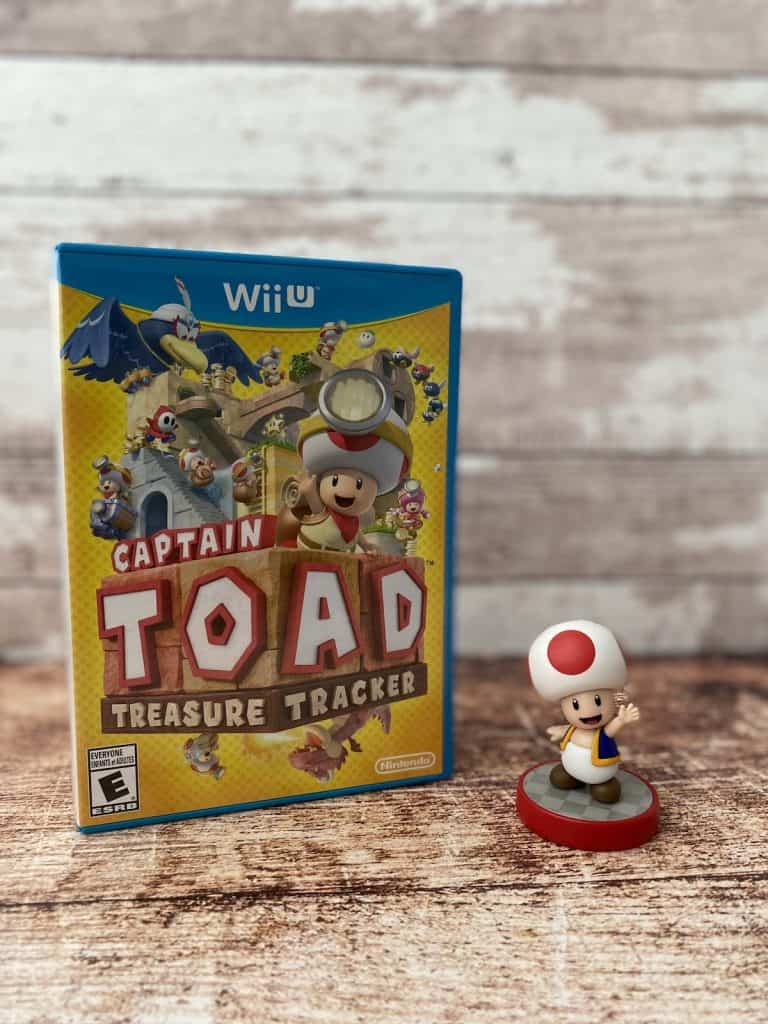 Captain Toad for Wii U and Toad amiibo