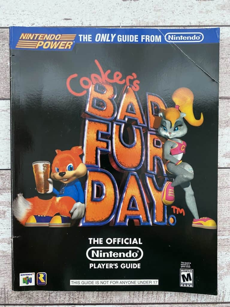 Conker's Bad Fur Day Nintendo Power Player's Guide