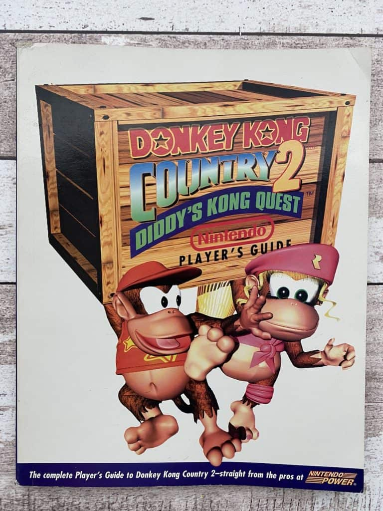 Donkey Kong Country 2 Nintendo Power Player's Guide