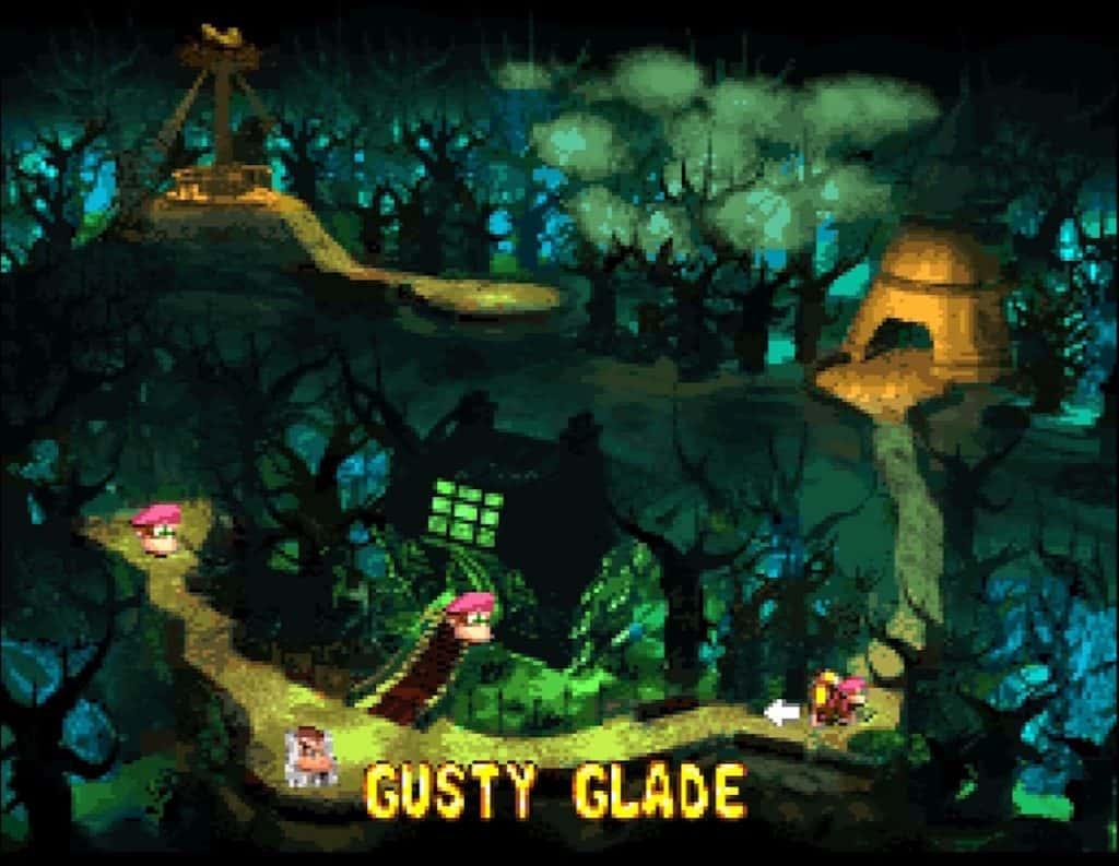 Gloomy Gulch World Map