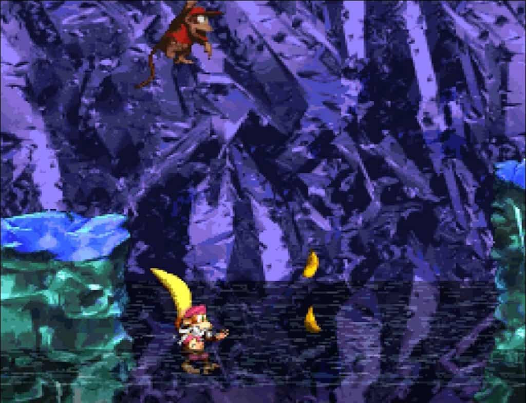 Donkey Kong Country 2 Ice Cavern
