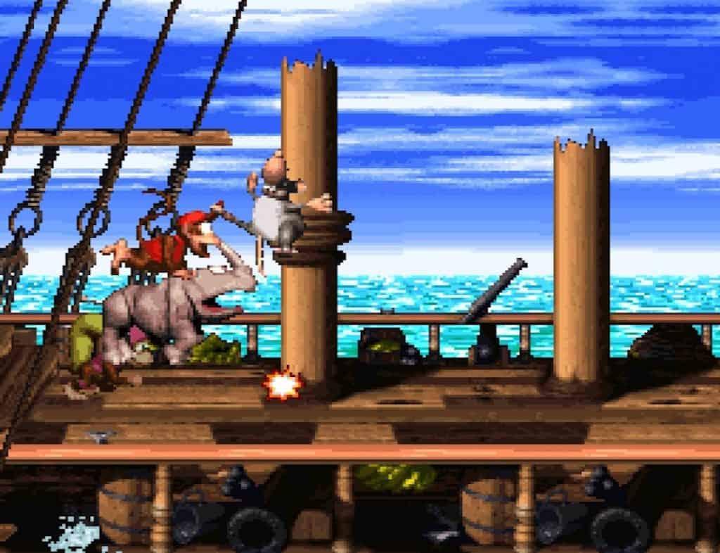 Donkey Kong Country 2 Pirate Panic
