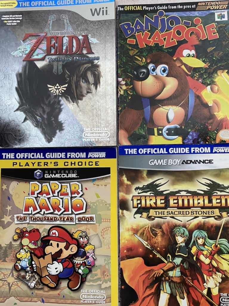 Nintendo Power Player's Guides
