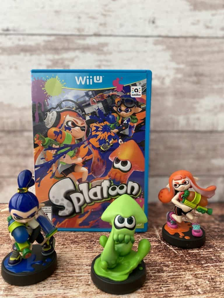 Splatoon for Wii U with amiibo 3 pack