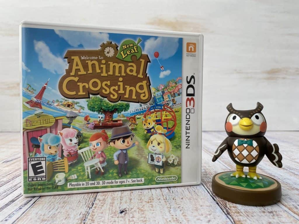 Animal Crossing New Leaf + Blathers amiibo