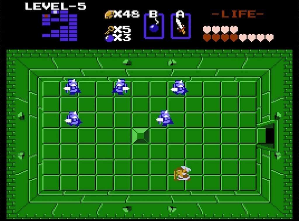 Blue Darknuts from original Legend of Zelda