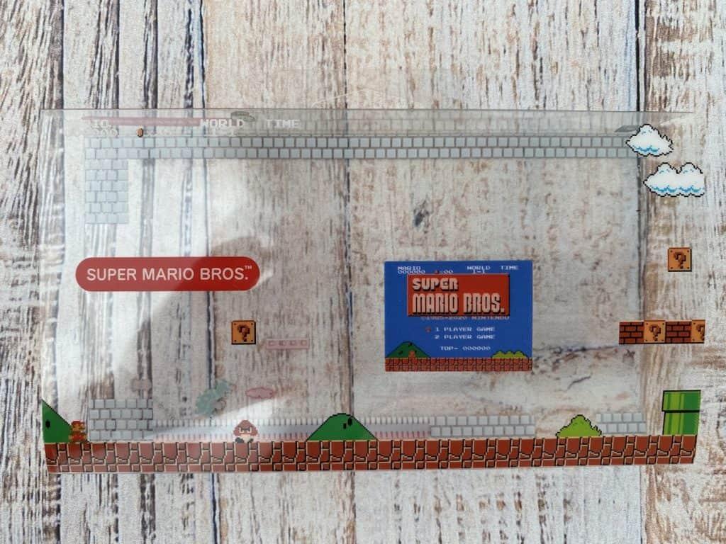 Game & Watch Super Mario Bros box slip cover