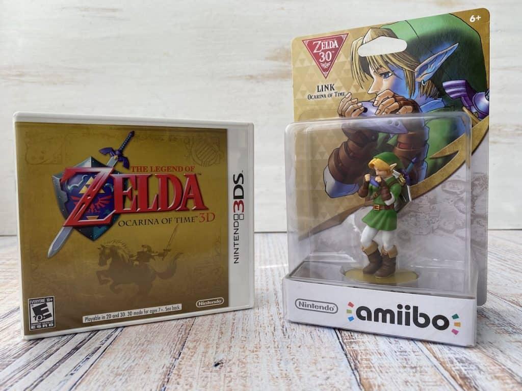 Zelda Ocarina of Time 3D + amiibo