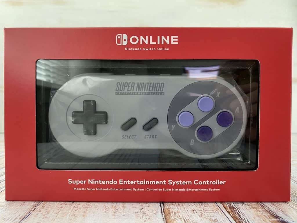 NSO Switch SNES controller box