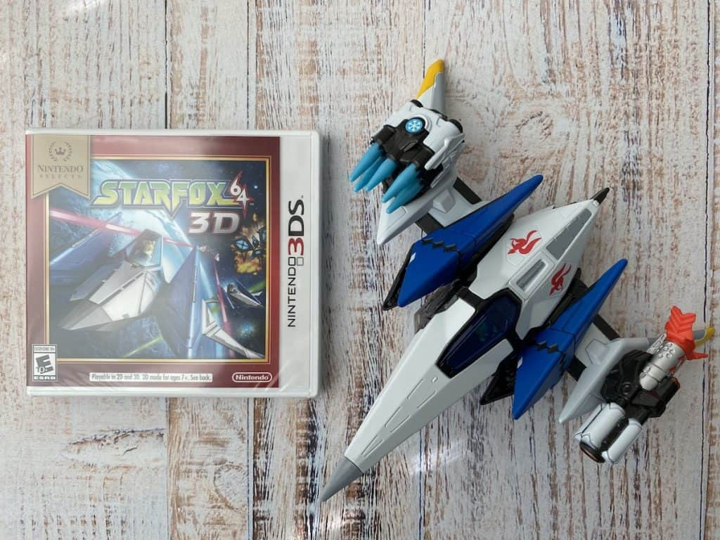 Star Fox 64 3D + Arwing