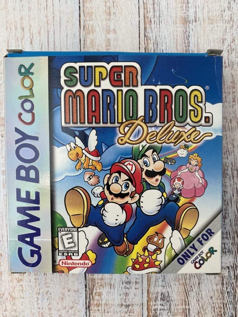 Super Mario Bros Deluxe Game Boy Color