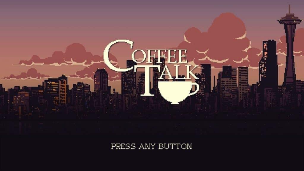 Coffee Talk title screen