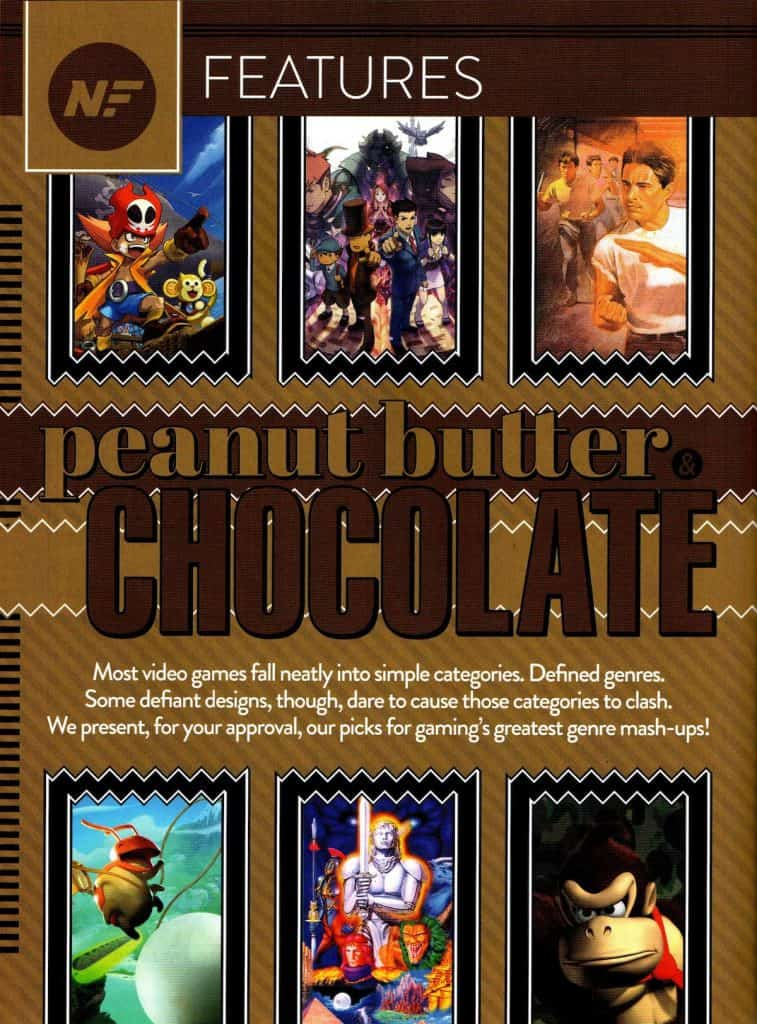 Nintendo Force Peanut Butter and Chocolate Feature