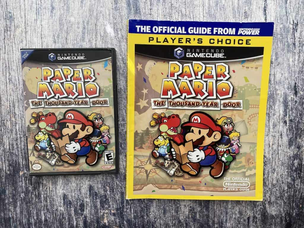 Paper Mario: The Thousand Year Door with Nintendo Power Player's Guide