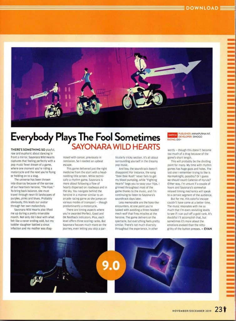 Sayonara Wild Hearts download review from Nintendo Force