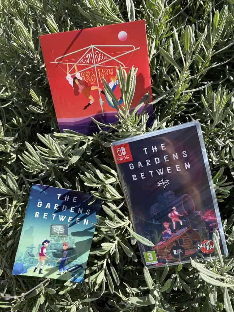 The Gardens Between physical edition on Switch with manual and soundtrack