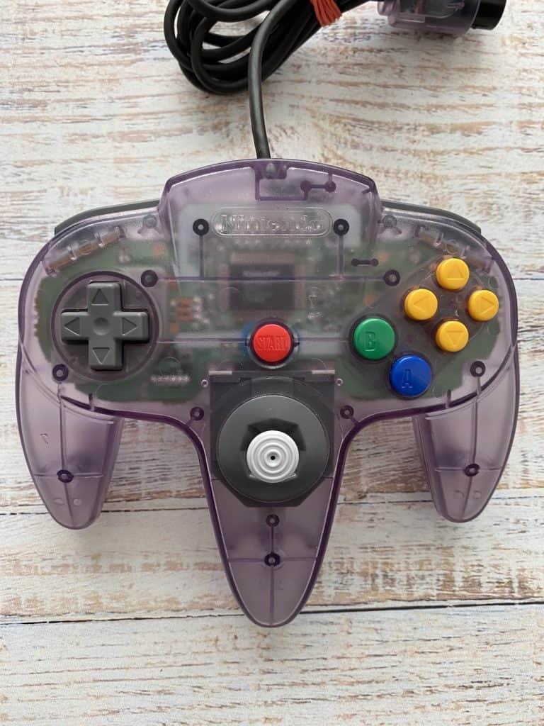 Atomic Purple N64 Controller