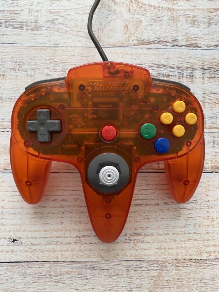 Fire Orange N64 Funtastic Controller