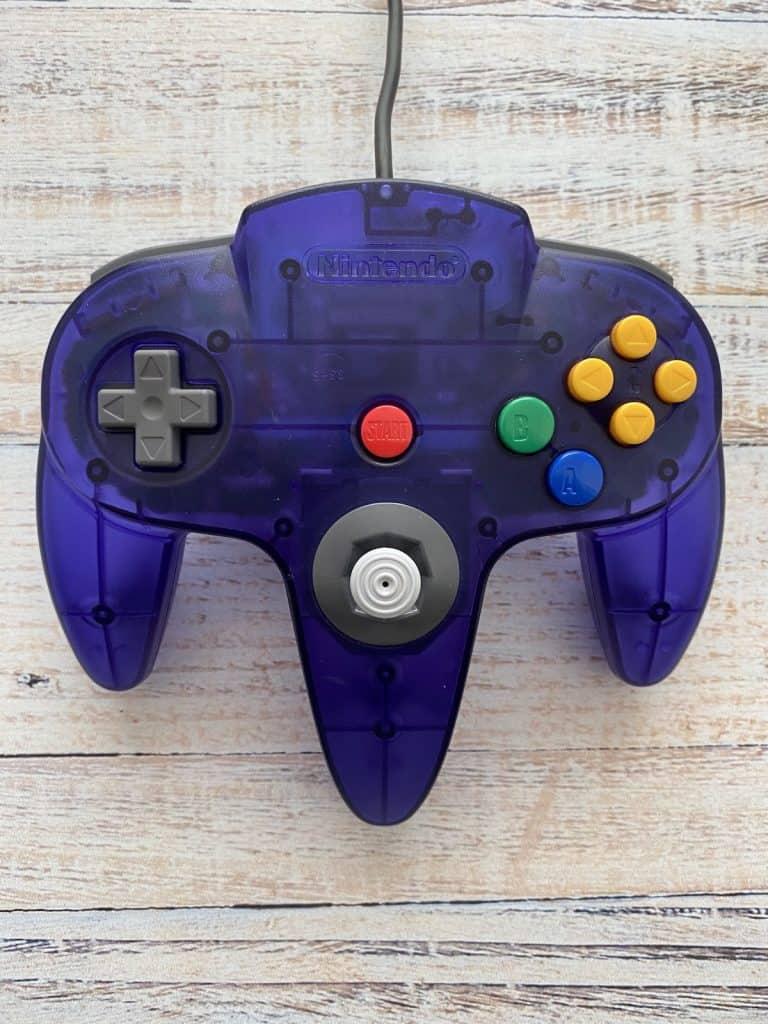 Grape Purple N64 Funtastic Controller