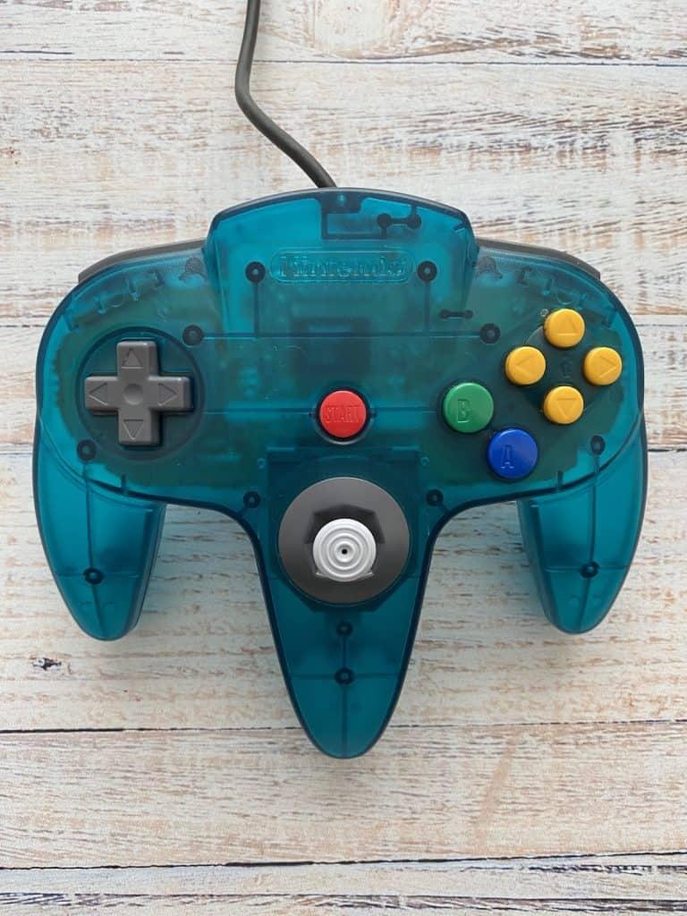 Ice Blue N64 Funtastic controller