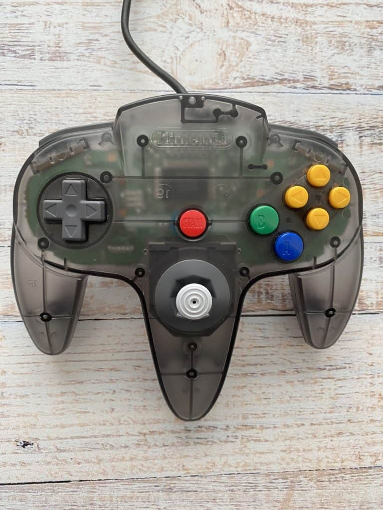 Smoke Black Funtastic N64 Controller