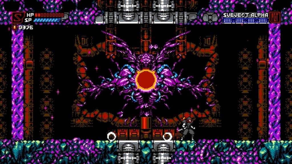 Cyber Shadow Chapter 5 Boss Screenshot