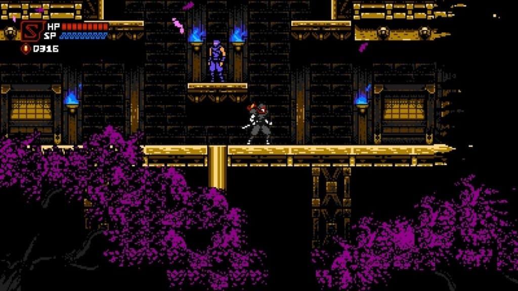 Screenshot of Cyber Shadow clan headquarters