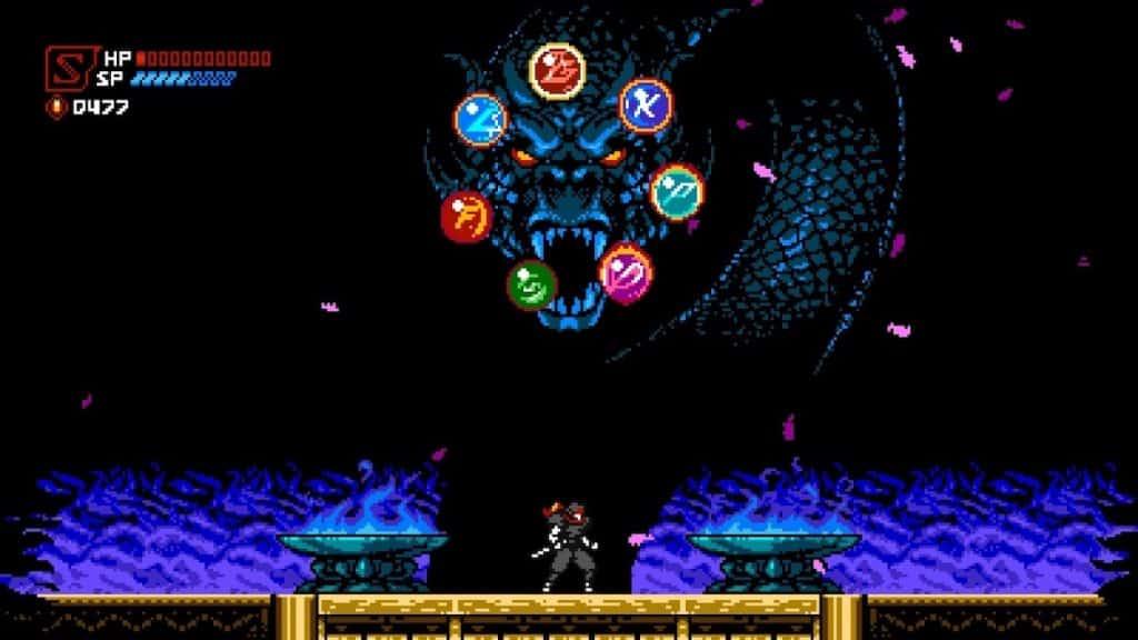 Cyber Shadow Dragon screenshot