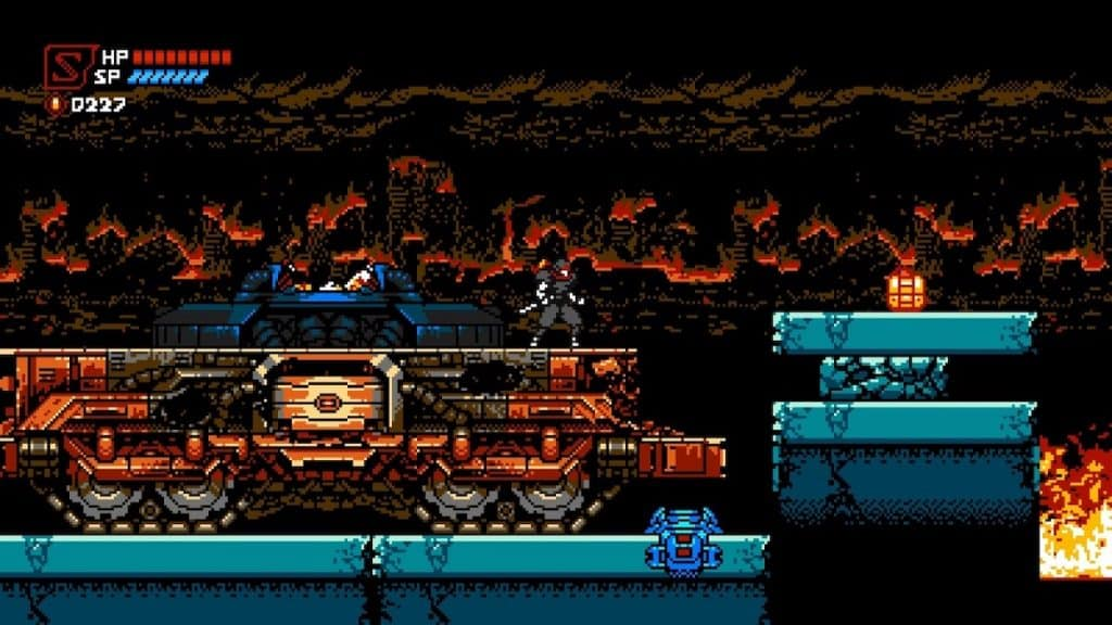 Cyber Shadow Meka City screenshot