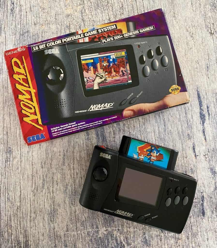 Sega Genesis Nomad with box