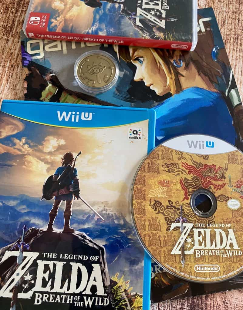 Zelda Breath of the Wild for Wii U, Switch, and Game Informer BotW cover