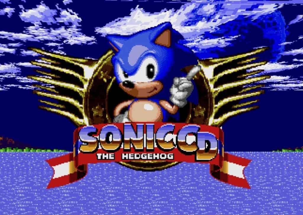 Sonic CD title screen
