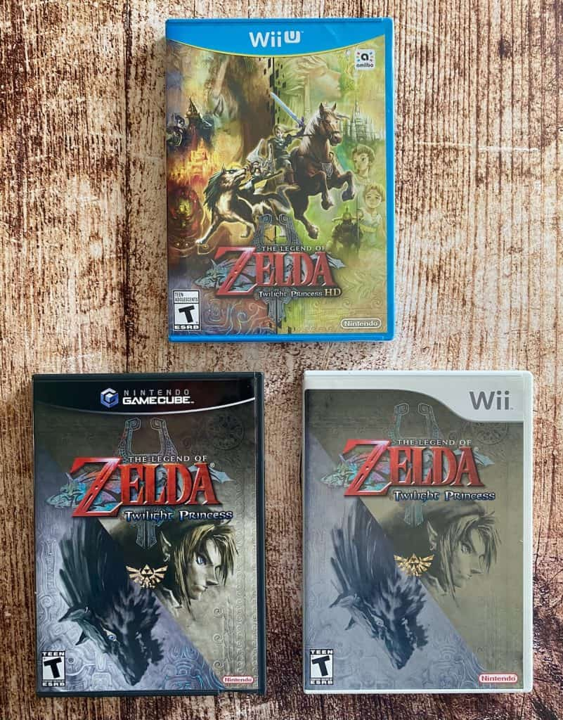 Zelda: Twilight Princess for GameCube, Wii, and Wii U