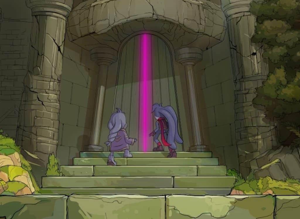 Kaze and the Wild Masks intro cutscene