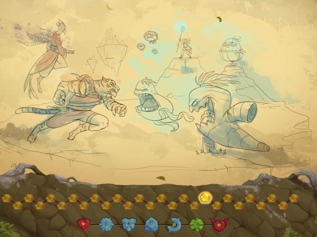 Kaze and the Wild Masks gallery screenshot of battle