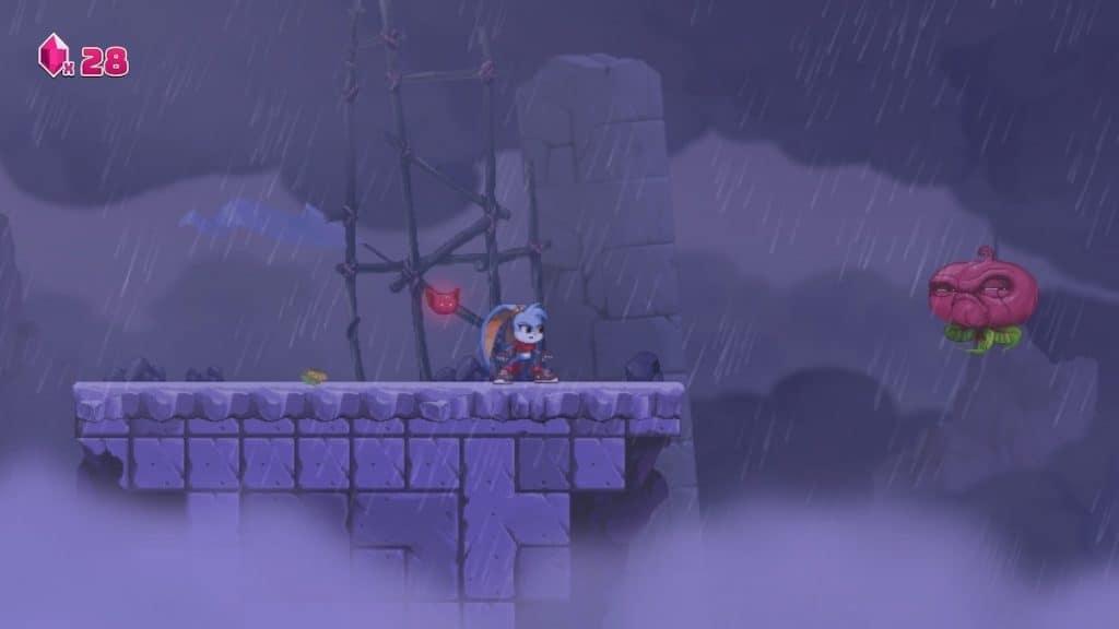 Kaze and the Wild Masks gameplay screenshot