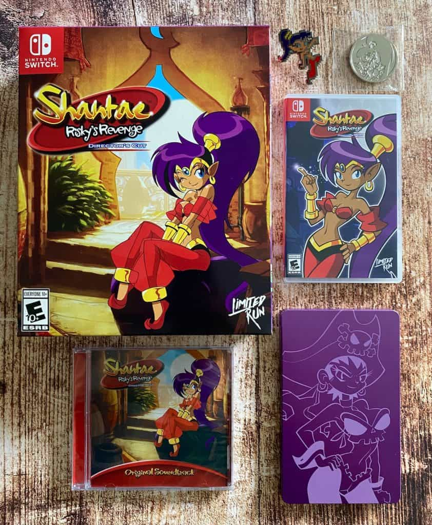 Shantae Risky's Revenge Limited Run Collector's Edition