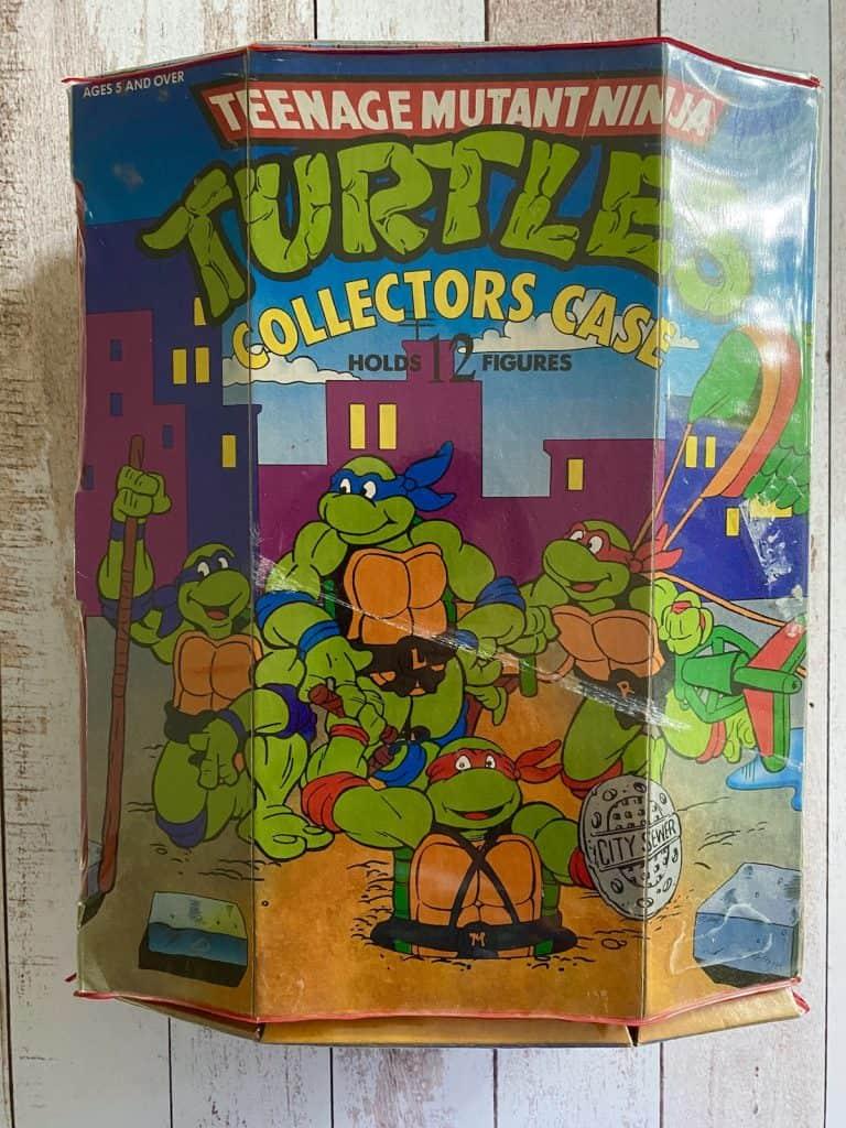 Vintage Ninja Turtles collector's case