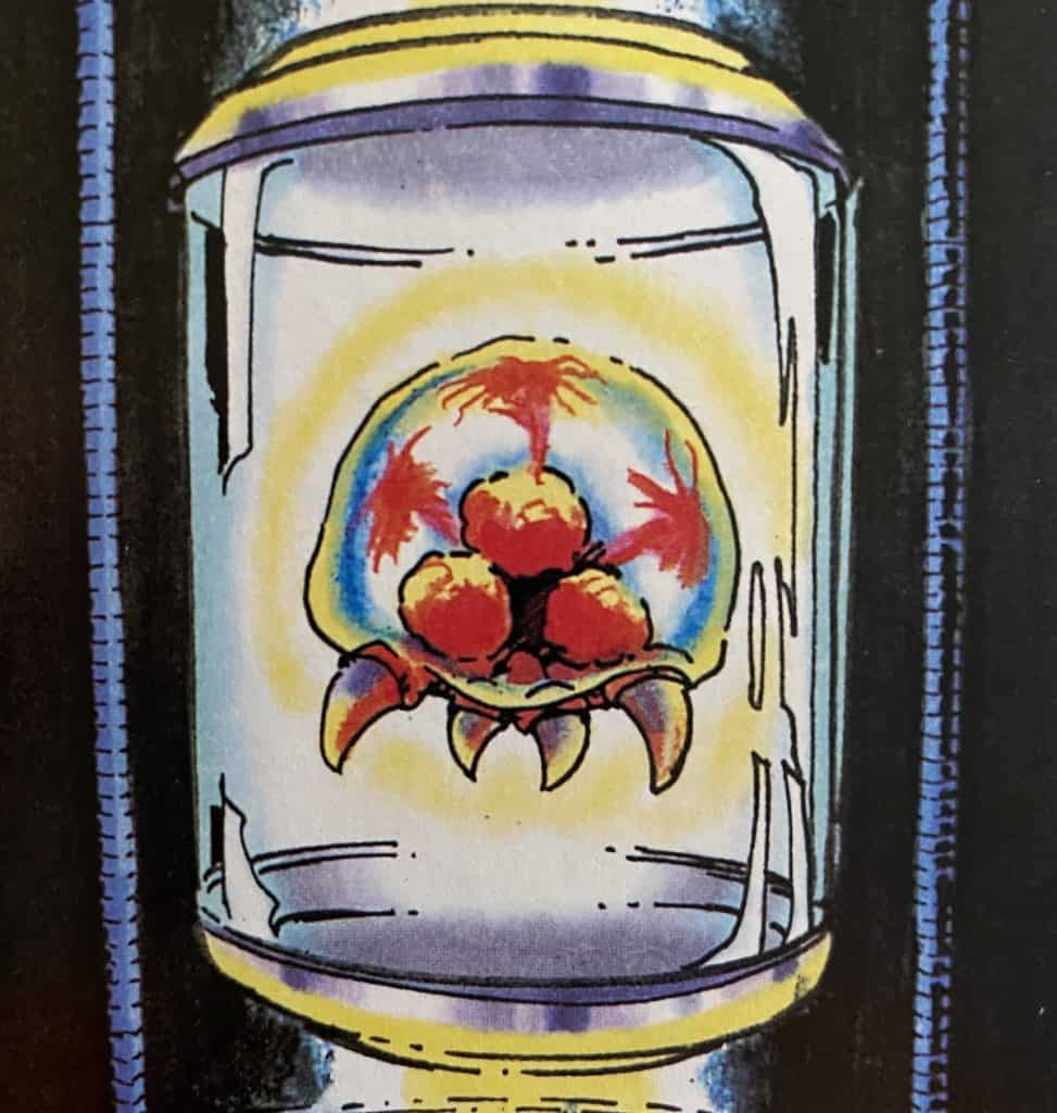 Metroid in a capsule from Super Metroid guide
