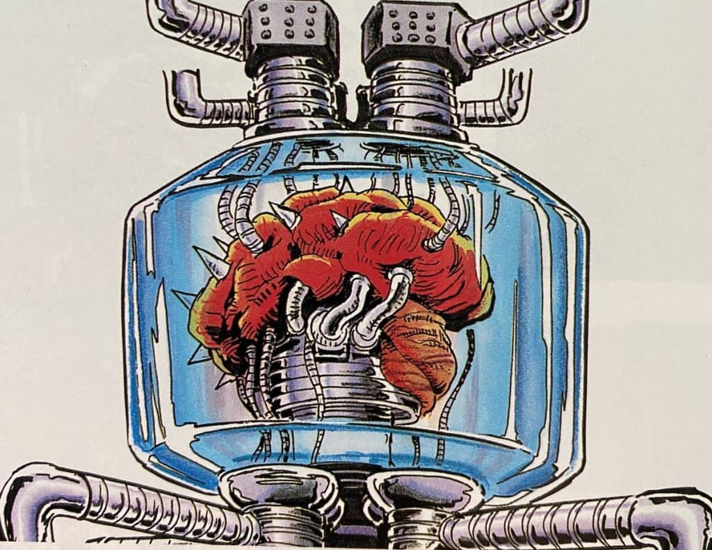 Mother Brain from Super Metroid guide