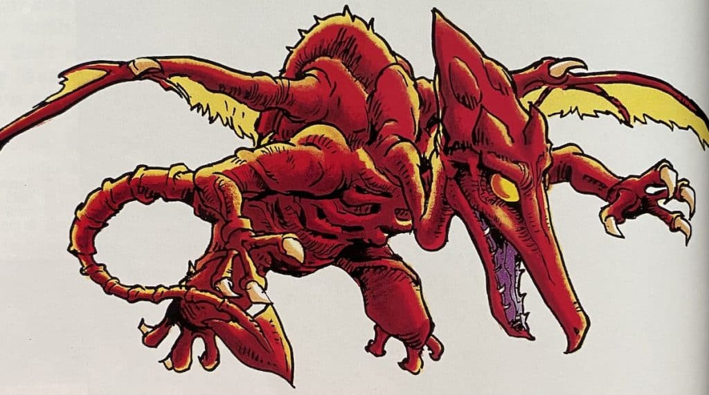 Ridley from Super Metroid guide